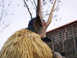 Ottana - maschera del Boe