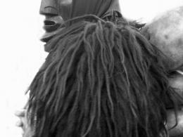 Mamoiada - maschera del Mamuthone