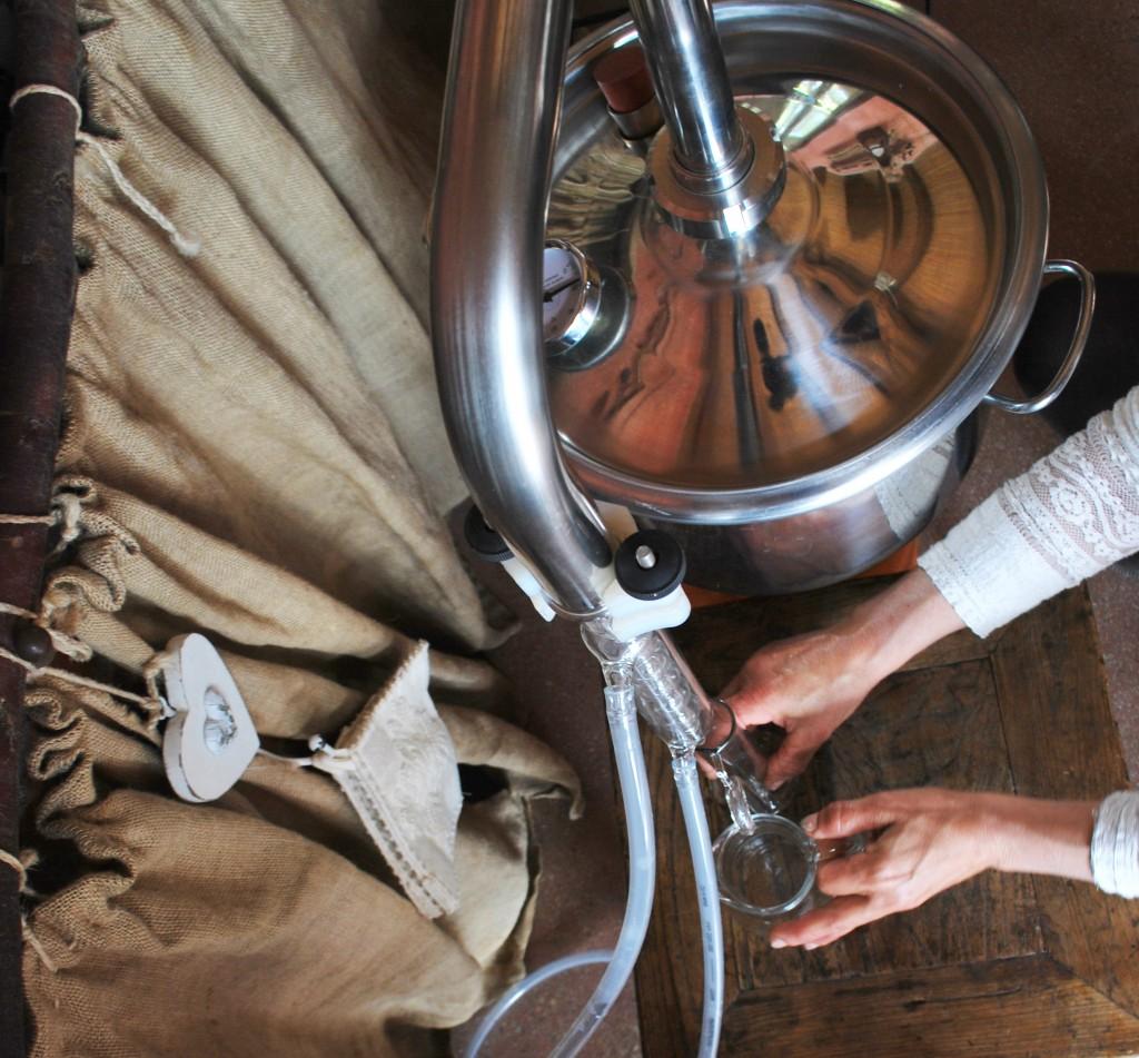 distillatore olio essenziale