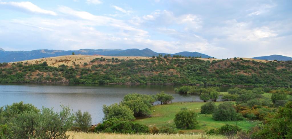 lago del parco naturale