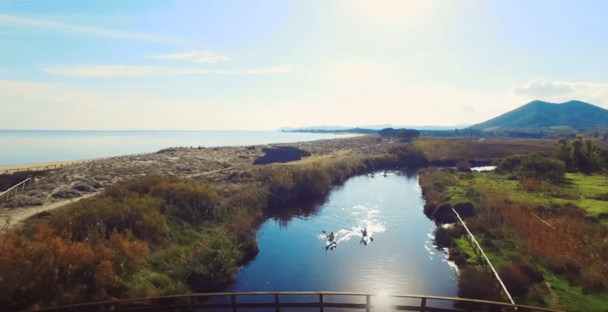 kayak fiume sardegna